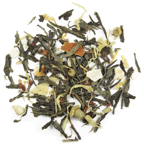 liście zielonej herbaty