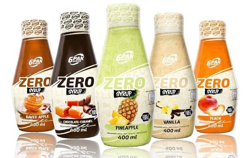 Czym cechują się sosy zero?
